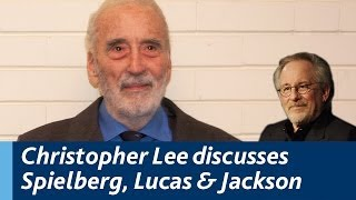 Christopher Lee discusses working with Spielberg, Scorcese, Peter Jackson and George Lucas