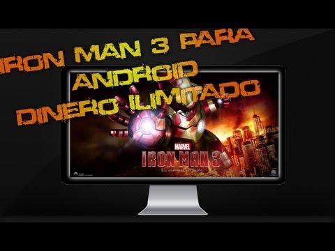 Iron Man 3 (El Juego Oficial) para Android + (Diamantes/Monedas Ilimitadas/No Root)