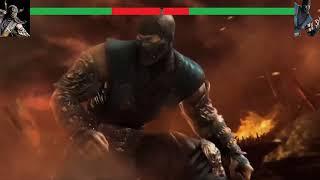 Mortal kombat scorpion vs sub zero vs reptile