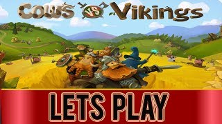 Cows VS Vikings -Tower Defense Classic!  - PC Gameplay #1 ( 1st Impressions )