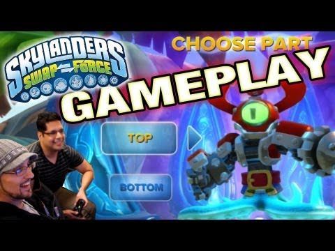 Let's Play Swap Force: Cascade Glade Gameplay w/ David Rodriquez Interview