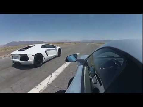 Bugatti Veyron vs Lamborghini Aventador vs Lexus LFA vs McLaren MP4-12c