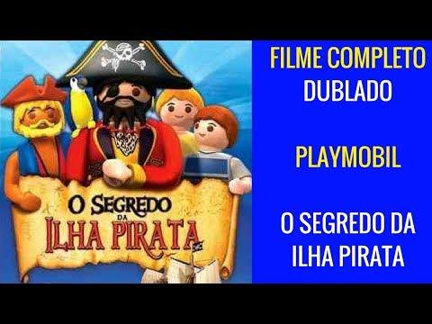 Playmobil O Segredo da Ilha Pirata Filme Completo Dublado em Português do Brasil Animação Infantil