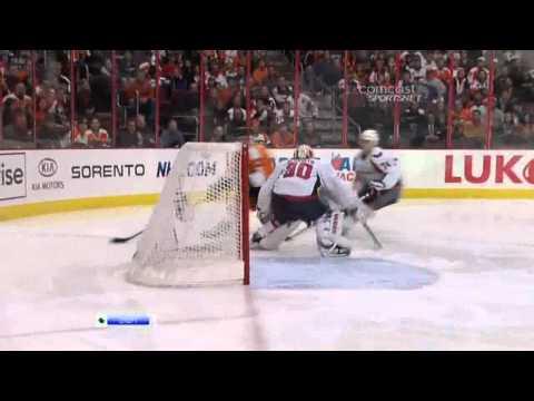 Fast Goal Jeff Carter 0-1 ( Washington Capitals & Philadelphia Flyers), NHL,01/18/2011