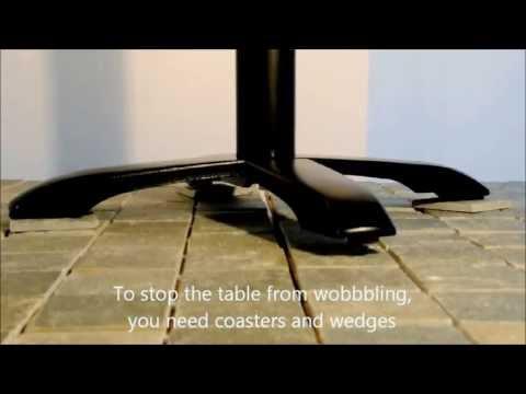StableTable -The unique wobble free tables!