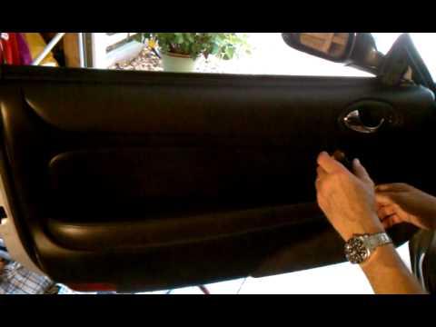 Jaguar Xk8 Door Panel Removal Youtube
