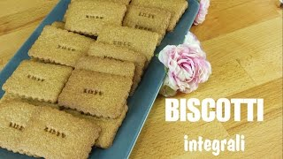 BISCOTTI INTEGRALI  ( Light ) - Kissgibellina72