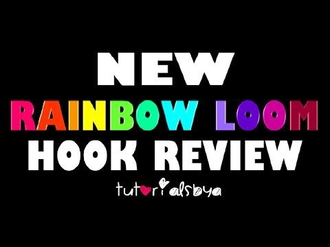 NEW Rainbow Loom Metal-Tipped Hook Review & Comparison