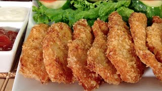 How To Make Chicken-Nuggets-Comfort Finger Food Recipes-Party Appetizers-Panko