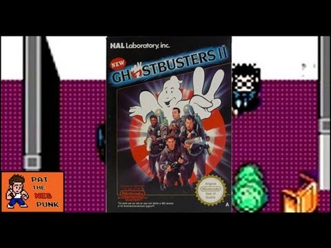 New Ghostbusters 2 - Pat the NES Punk (Nintendo PAL review)