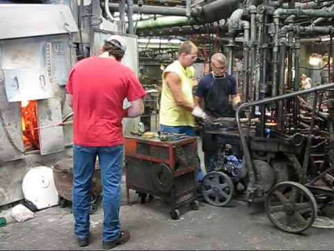 Fenton Glass Factory Tour