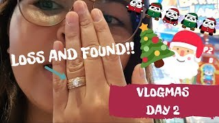 VLOGMAS DAY 2: LOSS AND FOUND WEDDING RING!! THANK YOU LORD SAFEST CITY | Philippines