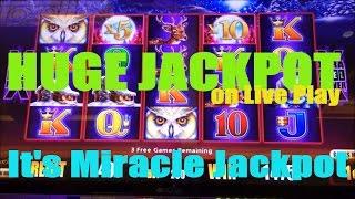 Wonder 4 Jackpots Slot Machine **JACKPOT HANDPAY** Miss Kitty Bonus Retrigger -$10 Max Bet ...