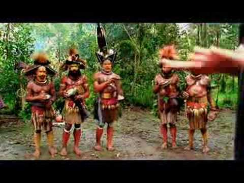 Dancing with the Huli Wigmen