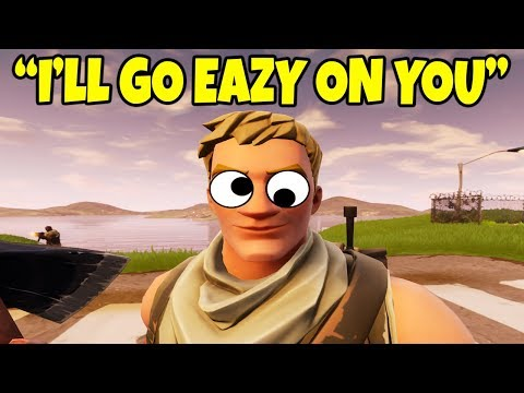 TROLL 1v1 *LITTLE KID* ON FORTNITE BATTLE ROYALE!! (Funny)