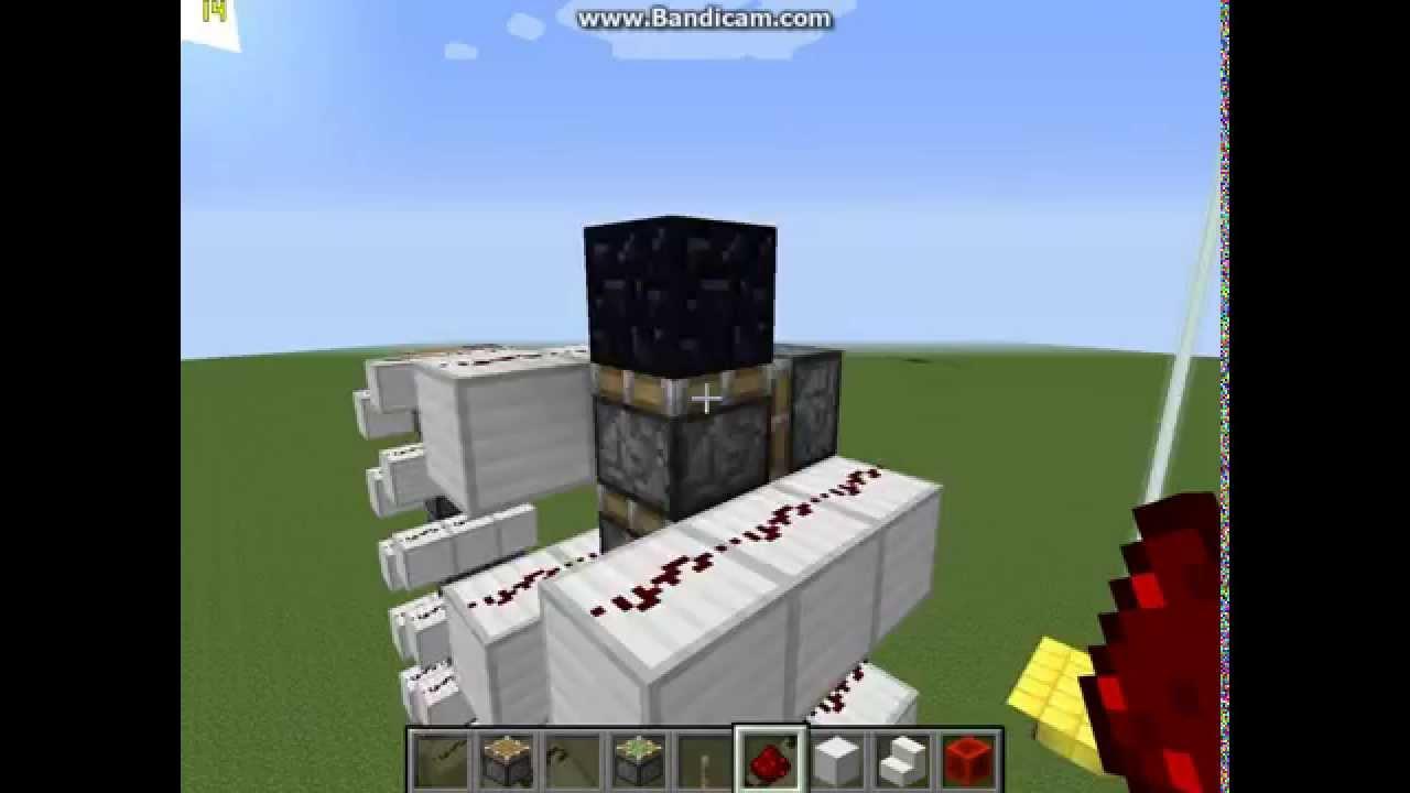 Как сделать лифт из в minecraft