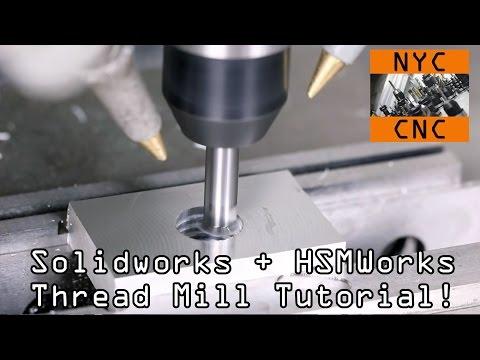 HSMWorks: Thread Milling Tutorial!