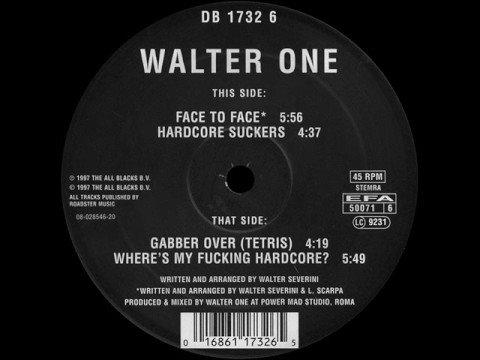 Walter One - Gabber Over (Tetris) - MOK 71