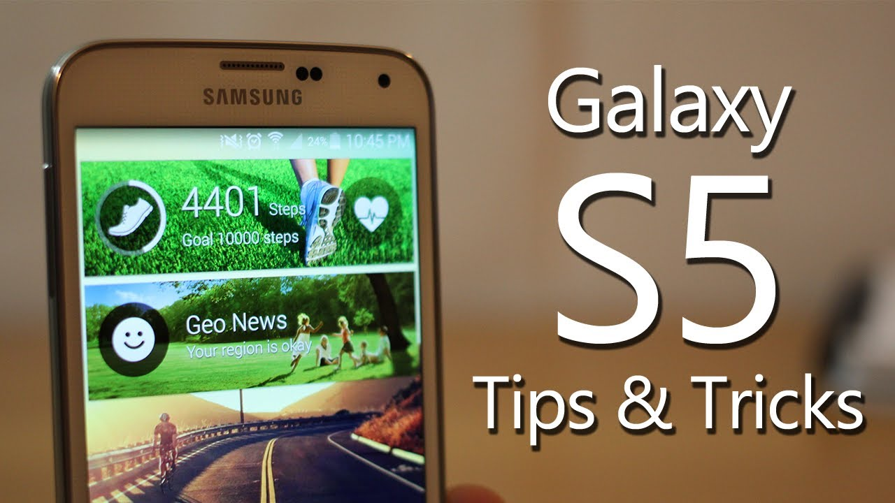 Samsung galaxy s5 hidden features