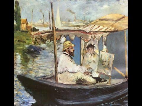 Impressionism - Edouard Manet, Claude Monet, Edgar Degas, Pierre-Auguste Renoir, Alfred  Sisley.