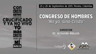 CONGRESO DE HOMBRES - 4TA CONFERENCIA