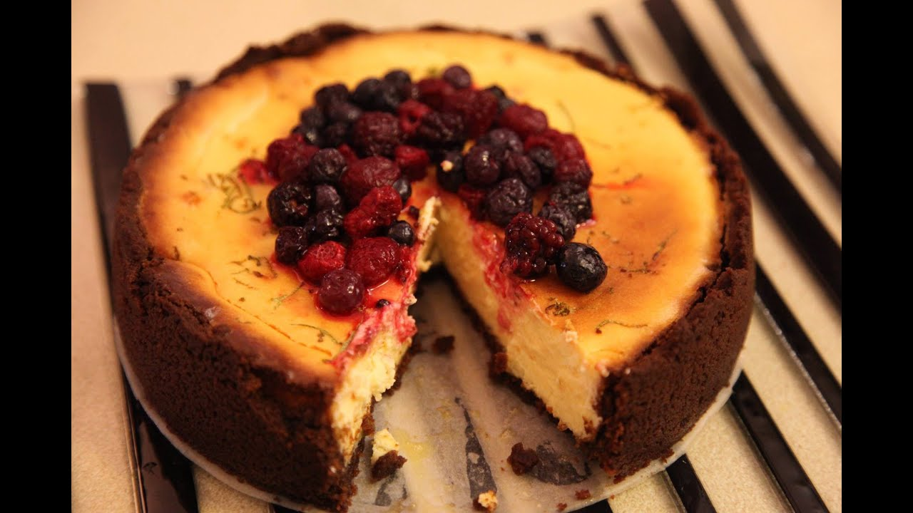 how to make baked cheesecake youtube