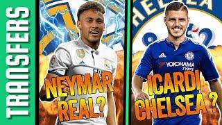 Neymar 200 millió €-ért a Real Madridban? Icardi a Chelsea-ben? | Átigazolási hírek