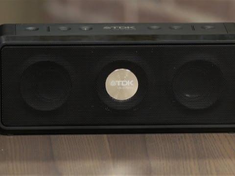 TDK Life On Record A33 Wireless Weatherproof speaker hands-on