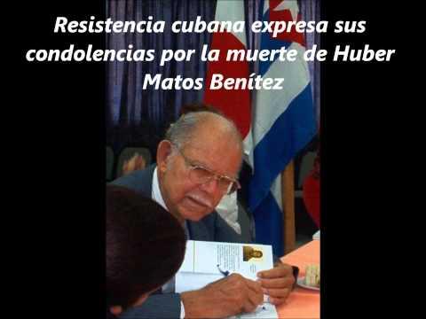 Resistencia Cubana expresa su pesar por la muerte de Huber Matos.
