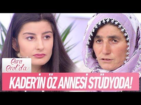 Kader'in yıllardır görmediği öz annesi Zeliha hanım stüdyoda - Esra Erol'da 1 Ocak 2018