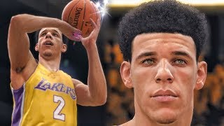 LONZO BALL SIGNATURE JUMP SHOT & FLASHY PASSES! NBA Live 18 Finals Gameplay!