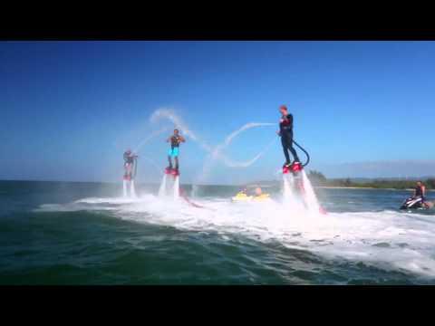 Queres volar a chorro?? el mejor invento de deporte extremo acuatico!!