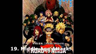 Naruto Shippuden The Movie: 6 - Naruto Shippuuden Movie 6: Road to Ninja Soundtrack