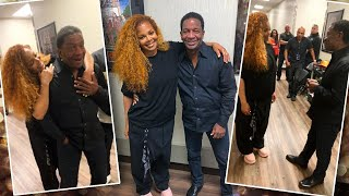 Dad Has Priceless Reaction to Meeting Janet Jackson