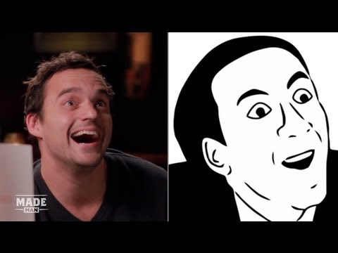 Jake Johnson Imitates Popular Internet Memes - Speakeasy
