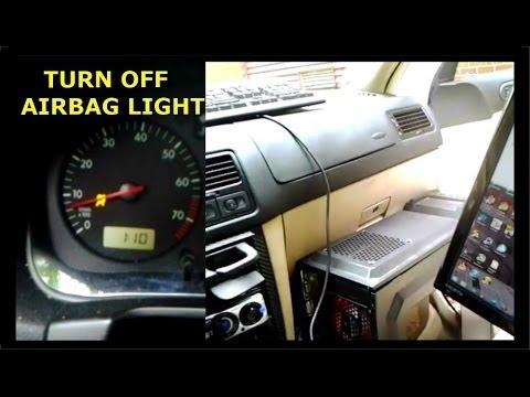 Airbag Light Reset VW Jetta MK4