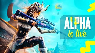 🔴 PUBG MOBILE LIVE : ALPHAFAM READY FOR INTENSE CHICKEN DINNERS!? (FACECAM)🤩|| H¥DRA | Alpha 😎