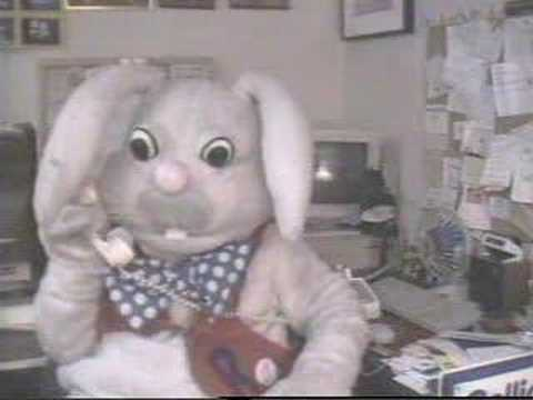 Rapid T. Rabbit reporting from Chuck E. Cheese's Video