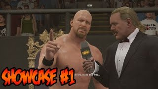WWE 2K16 - Showcase - Stone Cold el Nuevo King of The Ring