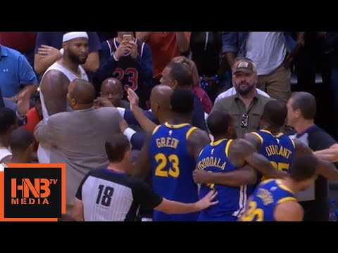Kevin Durant And Demarcus Cousins Find Out The Relationship   Both Left The Game