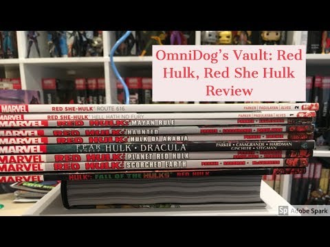 Root Beer Reviews: Comics Review: Red Hulk, Red She-Hulk