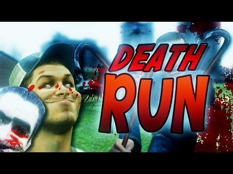 Garry's Mod Death Run : RUN OR DIE?! (Funny Moments!)