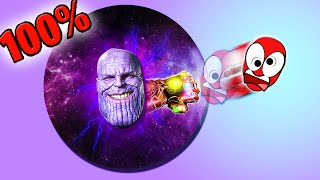 PAPER2.IO THANOS 100% OF MAP! | THANOS DESTROYS EVERYONE IN PAPER2.IO! | Paper2.io Epic and Funny