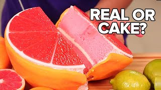 4 Citrus Fruits CAKES!! | How To Cake It
