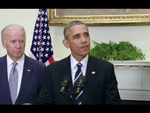 The President Delivers a Statement on the Keystone XL Pipeline