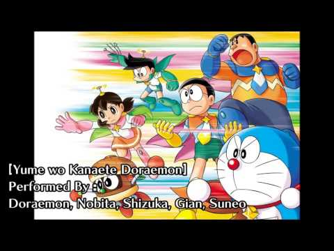 Yume wo Kanaete Doraemon (Characters' Version) - Doraemon Opening Song thumbnail