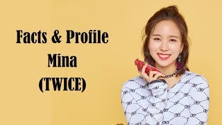 [K-POP] All facts & profile about Mina (TWICE)