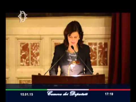"""Roma - Rodotà, """"Solidarietà, un'utopia necessaria"""". Laura Boldrini (15.01.15)"""