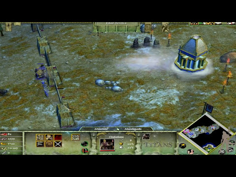 Age of Mythology  The Titans - Parte 1 - Un Pueblo Perdido