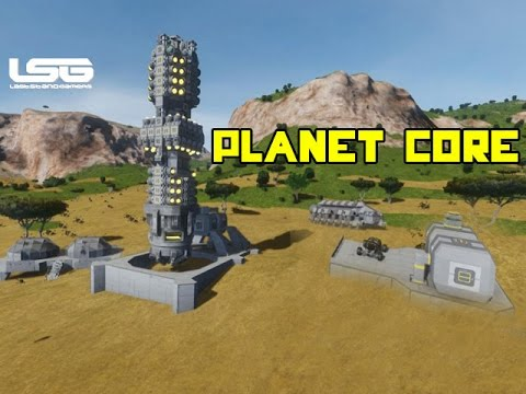 Space Engineers - Centre Of The Planet Drilling